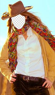 Cowgirl Fashion Photo Montage - náhled