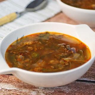 Spicy Chorizo, Bean & Kale Soup