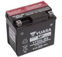 YUASA MC batteri YTX5L-BS LxBxH: 114x71x106mm