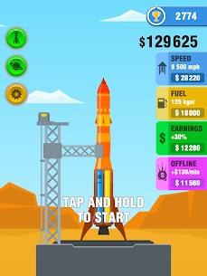 Rocket Sky! Mod Apk 1.5.1 (Unlimited Money) 6