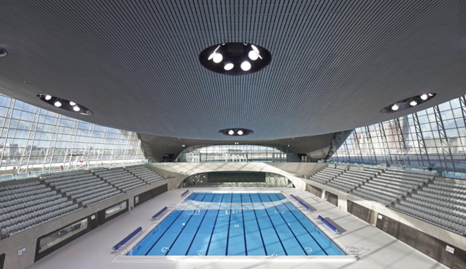 Walk And Swim 1 3 Stratford To London Aquatics Centre London European Club Londres England