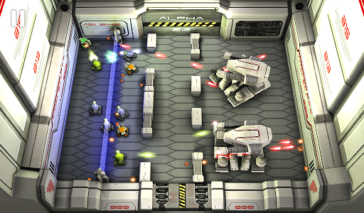Tank Hero: Laser Wars screenshot 1