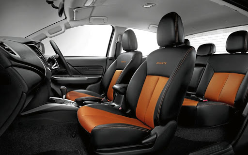 The interior benefits from styling changes as well as safety upgrades. Picture: QUICKPIC