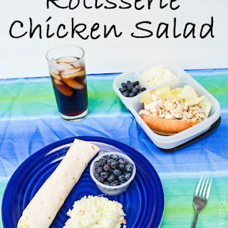 Rotisserie Chicken Salad.
