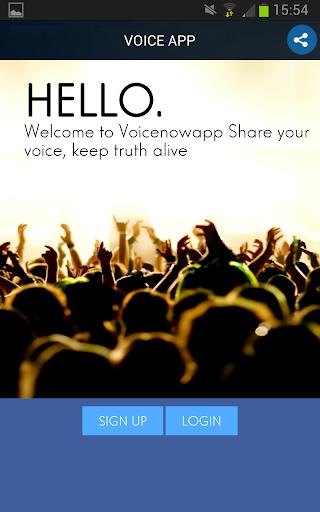 Voice Now App