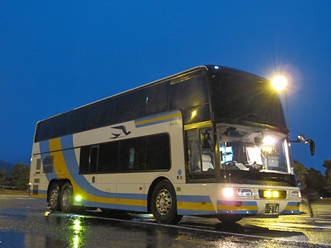 JR四国バス「ドリーム高知号」・214 吉野川SAにて