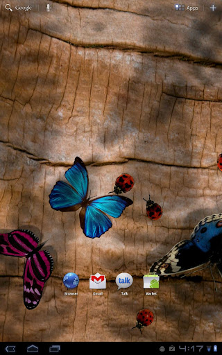 Friendly Bugs Live Wallpaper screenshot 4