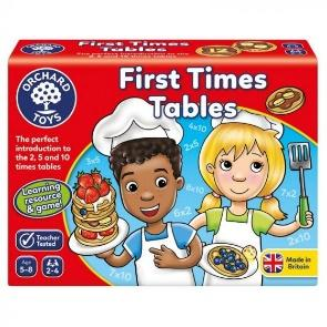 First times tables juego de multiplicación