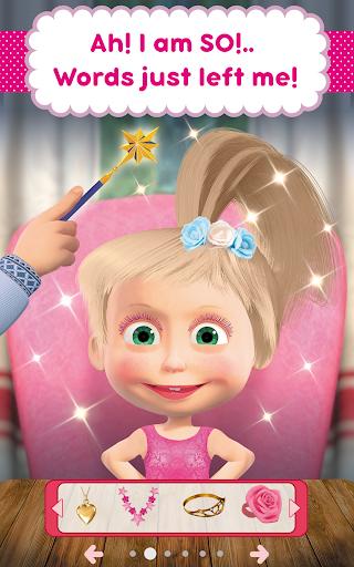 Masha and the Bear: Hair Salon and MakeUp Games 1.0.5 screenshots 13