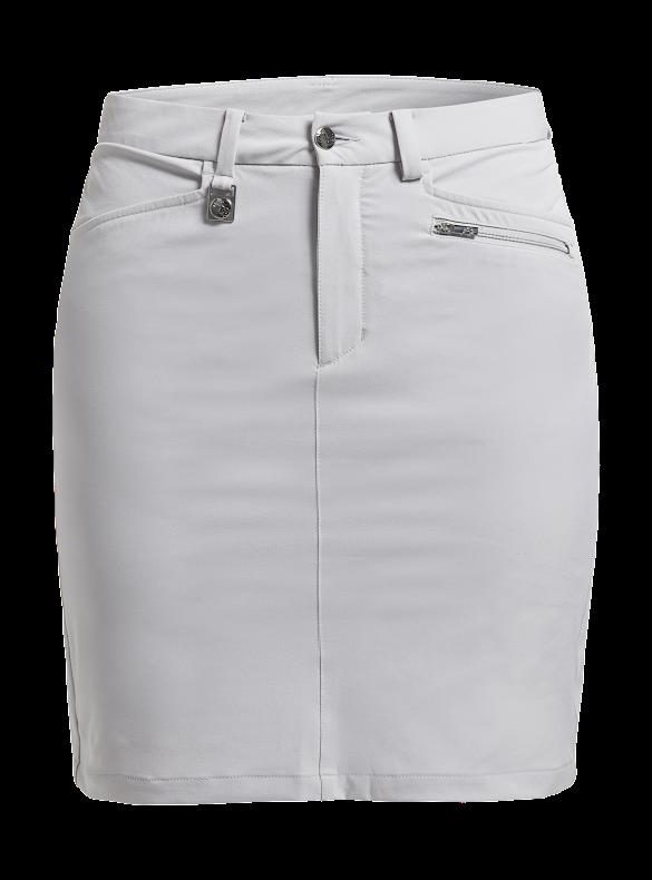 Golfkjol - Röhnisch Comfort Stretch Skort SIlver Grey