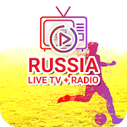 Russian live TV and FM Radio channels