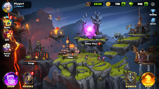 Auto Brawl Chess: Battle Royale apkpoly screenshots 4