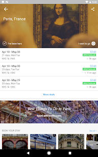 Hitlist- Find Cheap Flights & Airline Ticket Deals Screenshot