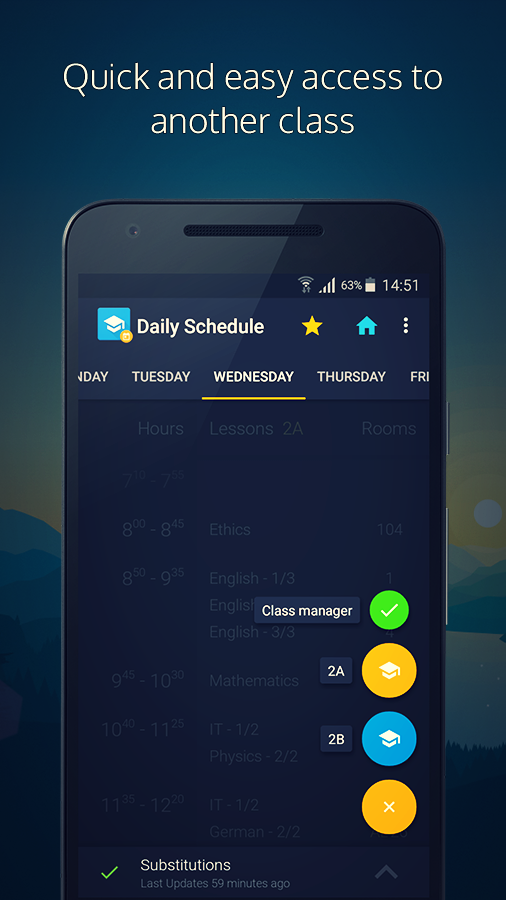 Daily Schedule - Timetable- screenshot