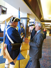 Photo: President General of National Society of Sons of the American Revolution