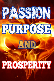 Purpose Passion and Prosperity - náhled