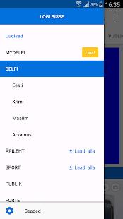 Delfi.ee - náhled