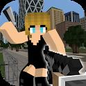 Mine Gun 3d - Cube FPS icon