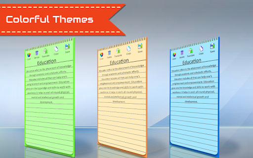 Voice Notepad -Mobility Notes Organizer & Recorder image | 3