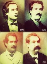 Photo: Mihai Eminescu (15 janvier 1850 - 15 juin 1889) http://www.benjaminfondane.com/un_article_cahier-R%C3%A9miniscences_d_Eminescu_dans_la_po%C3%A9sief_ran%C3%A7aise_de_Fondane-378-1-1-0-1.html