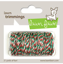 Lawn Fawn Trimmings Hemp Cord 21 Yards - Mistletoe