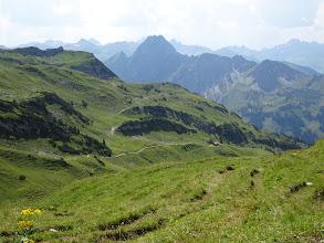 Photo: Die zackige Höfats, einer der steilsten Grasberge der Alpen