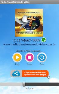 Rádio Transformando Vidas - náhled