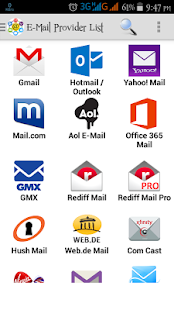 Email Inbox - náhled