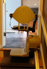 Photo: Stairlift Top Landing Enter/Exit