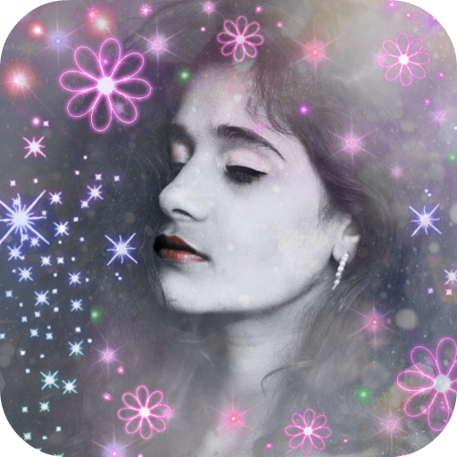 Glitter Light Effect for Photos Icon