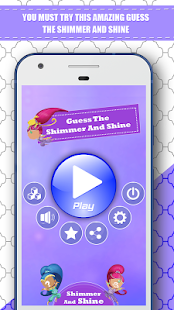 Guess The Shimmer and Shine - Quiz - náhled