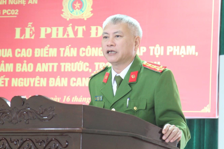 Đại tá Phạm Hoài Nam – Trưởng phòng Cảnh sát hình sự phát động đợt cao điểm tấn công trấn áp tội phạm trước, trong và sau Tết nguyên đán Canh Tý 2020
