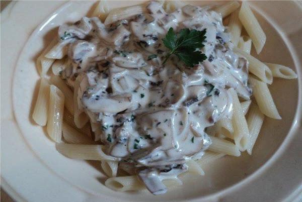 Pasta With Sauce Roma (white Mushrooms) Recipe