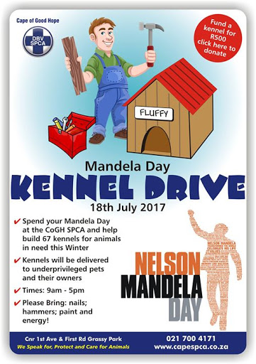 Mandela Day Kennel Drive : Cape of Good Hope SPCA