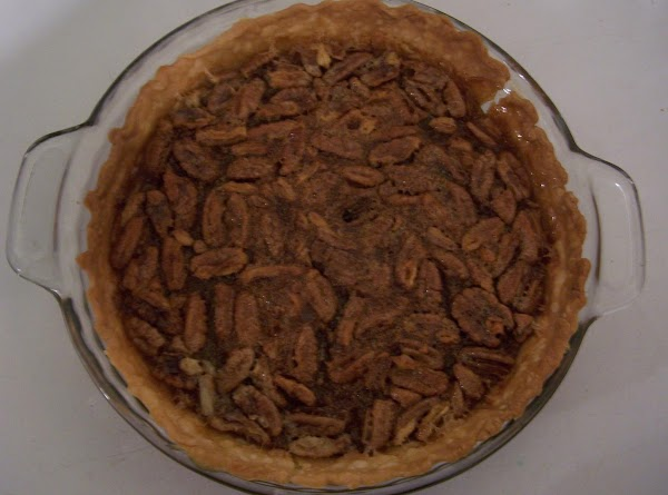 Pour into unbaked pie shell. Place foil around crust to keep edges from burning....