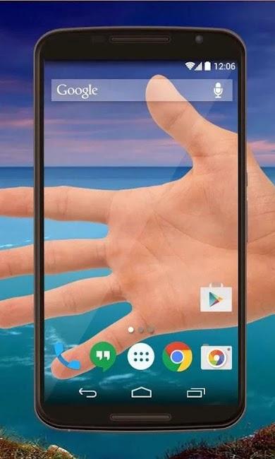 #4. Transparent Screen Wallpaper (Android)