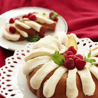 Nothing Bundt Cakes' White Chocolate Raspberry Bundt Cake