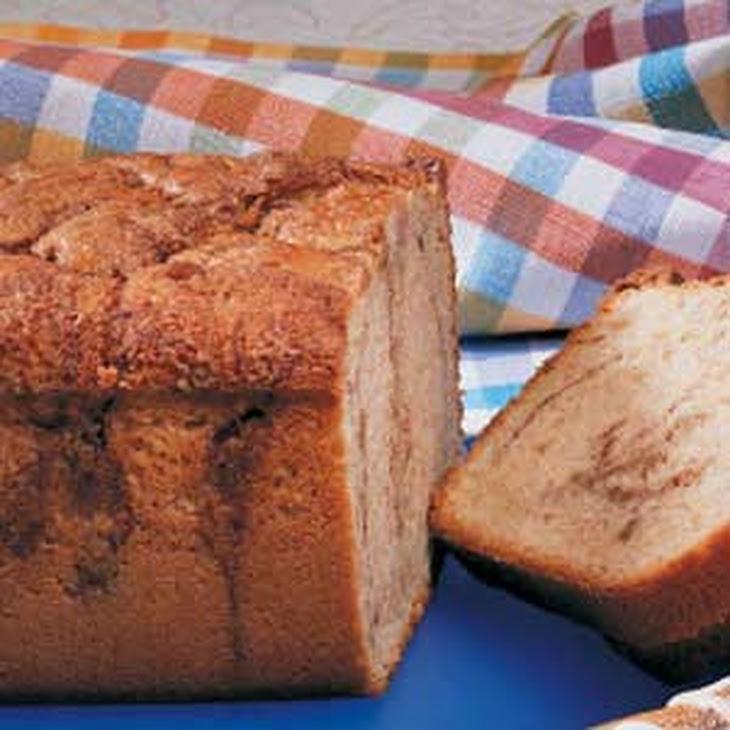Cinnamon Coffee Cake Loaf Recipe