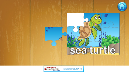 Ocean Jigsaw Puzzles For Kids Screenshot