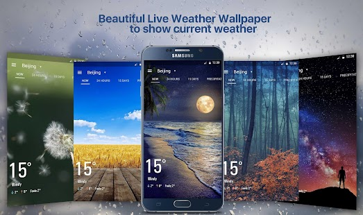 نرم افزار قدرتمند هواشناسی برای اندروید Amber Weather