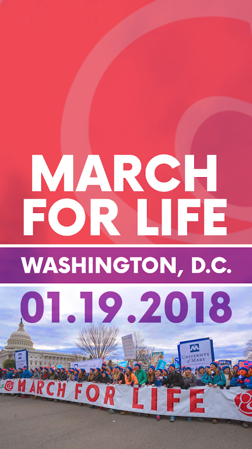 March for Life 2018- screenshot