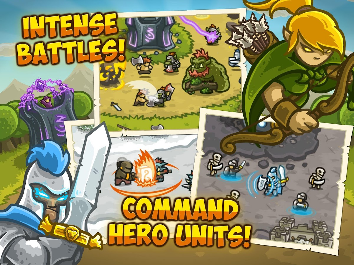 Screenshots of Kingdom Rush for iPhone