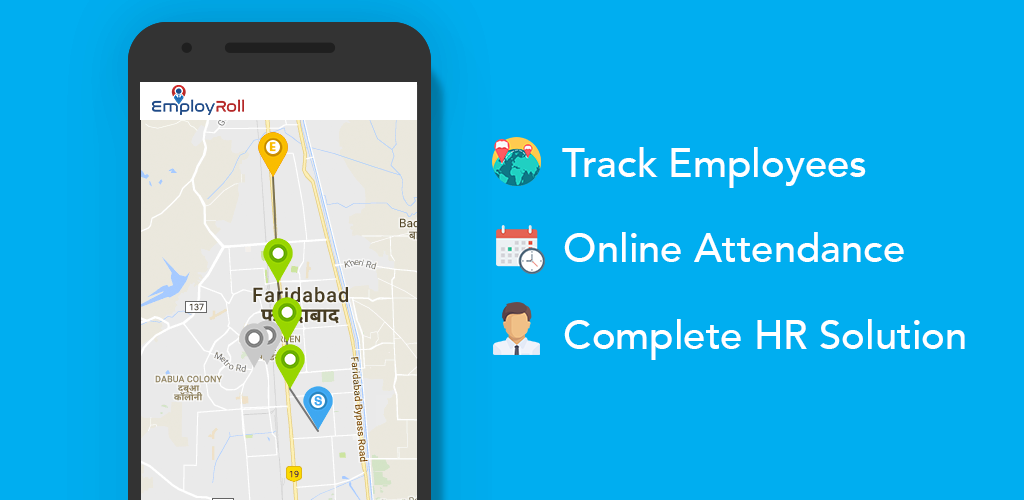 Download Employroll - A Cloud Based HRMS & Employee Tracker APK