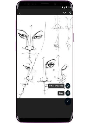 Face Drawing Step by Step 1.3.0 screenshots 3