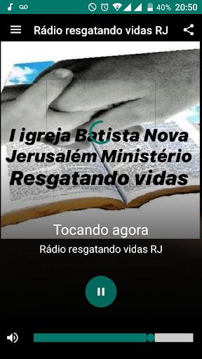 Rádio Resgatando Vidas RJ screenshot 3