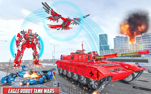 Tank Robot Game 2020 – Eagle Robot Car Games 3D 3