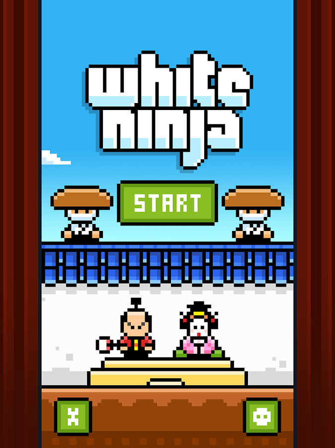 White Ninja- screenshot
