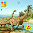 Dinosaurs Cards (Dino Game) icon