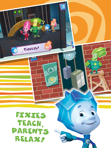 Fixiki: educational  kids games for boys & girls. 1.2.2 screenshots 1