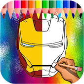 How to Draw Iron Man Easy step